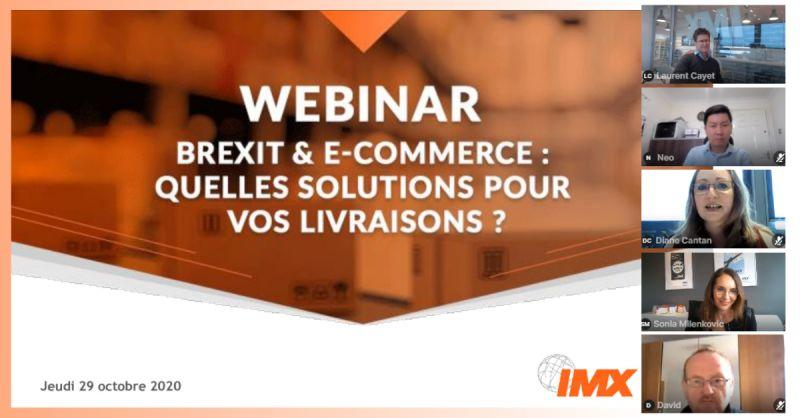 Voir le webinar IMX à propos du Brexit
